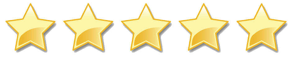 5 Stars!